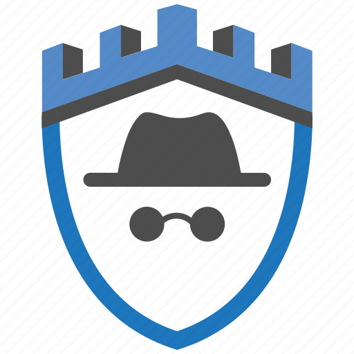 agent, castle, encryption, firewall, guard, security, shield icon