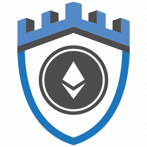 castle, encryption, ethereum, firewall, guard, security, shield icon