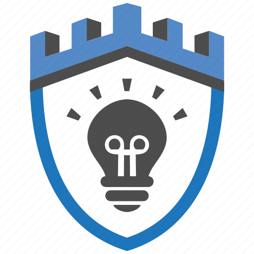 castle, encryption, firewall, guard, idea, security, shield icon