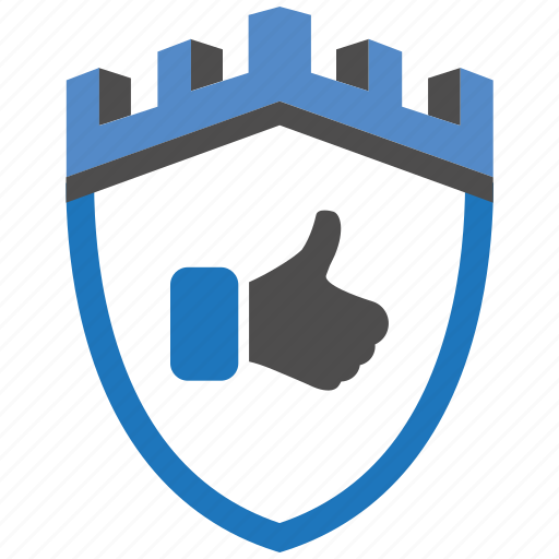 castle, encryption, firewall, guard, like, security, shield icon