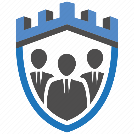 castle, encryption, firewall, guard, security, shield, team icon