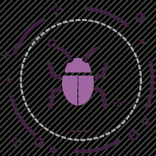 bug, encryption, firewall, guard, security, shield icon