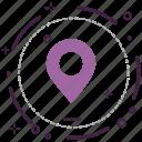 encryption, firewall, guard, location, security, shield icon