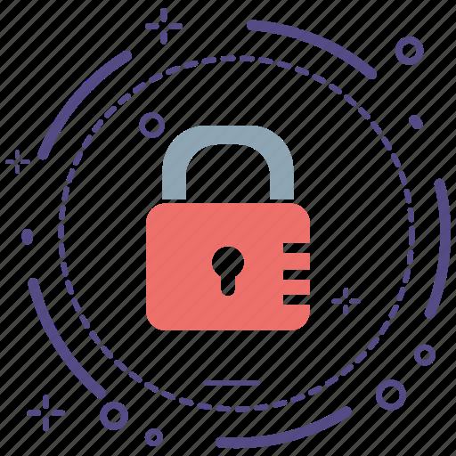 encryption, firewall, guard, lock, security, shield icon