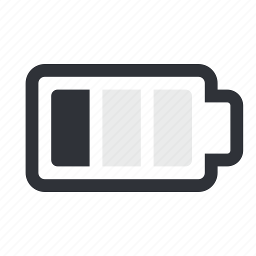 battery, charge, low, low battery icon