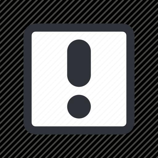 check box, checkbox, exclamation, hazard, problem, stop, warning icon
