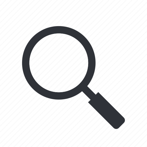 find, magnifying, search, zoom icon