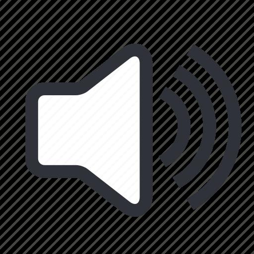 audio, media, music, play, sound, vol, volume icon