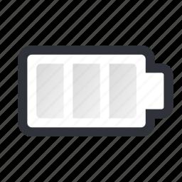 battery, dead battery, empty icon