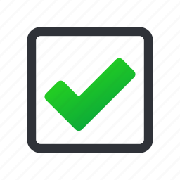 accept, check, check box, checkbox, done, ok, selected icon
