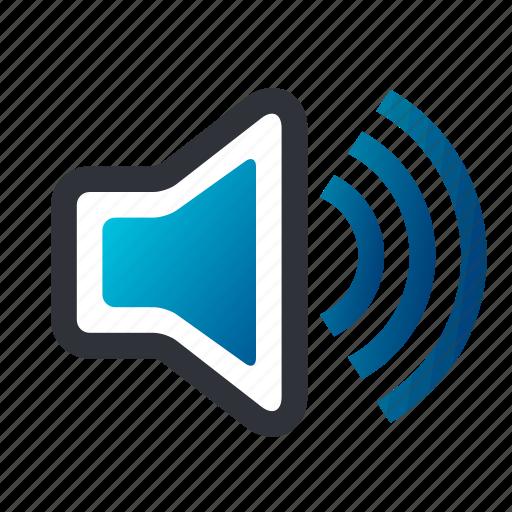 audio, sound, speaker, speakers, vol, volume icon