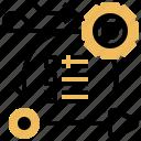 agile, methodology, cycle, procedure, operation icon