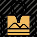 roadmaps, plan, project, strategic, goal icon