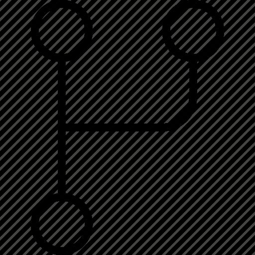 codebase, control, git, repository, version icon