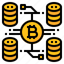 bitcoin, cryptocurrency, data, online
