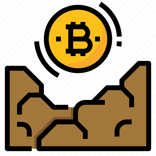 bitcoin, cryptocurrency, manufacturing, mining icon