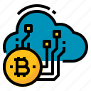 bitcoin, cloud, cryptocurrency, manufacturing, mining
