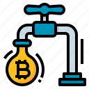 bitcoin, cryptocurrency, faucet, system