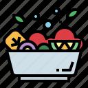 food, salad, vegan, organic