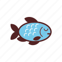 food, dinner, fish, meal icon