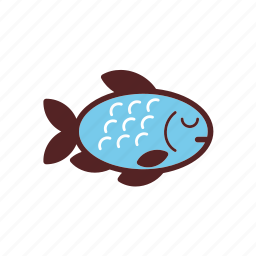 dinner, fish, food, meal icon