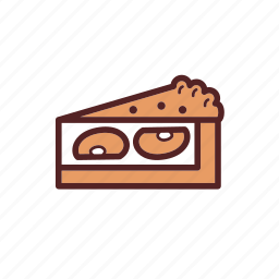 apple, cake, dessert, dinner, meal, pie, tart icon
