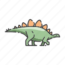 animal, dinosaur, stegosaurus icon