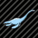 dinosaur, ocean, animal, elasmosaurus