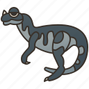 carnivore, ceratosaurus, dinosaur, jurassic, theropod icon