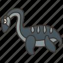 aquatic, dinosaur, elasmosaurus, evolution, jurassic icon