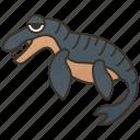 carnivore, dinosaur, liopleurodon, marine, reptile icon