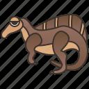 aegyptiacus, creature, dinosaur, extinct, spinosaurus icon