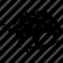 armored, beast, dinosaur, stegosaurus, herbivore icon