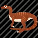carnivore, coelophysis, dinosaur, primitive, theropod icon
