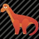 dinosaur, giant, herbivore, prehistoric, titanosaurus icon