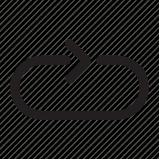 arrow, backward, cycling, loop, refresh, reload, repeat icon