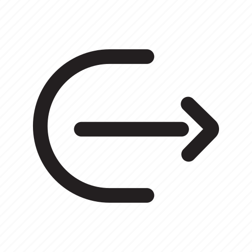 arrow, outgoing, send file, sending, share icon