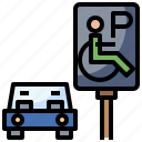 disability, parking, people, sign, transport
