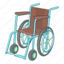 disabled, hospital, medical, wheelchair icon