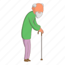 male, man, old, people icon