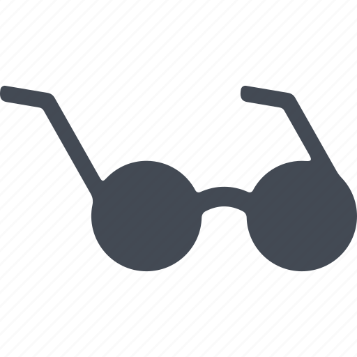 able to see, disabled, spectacles, vision icon