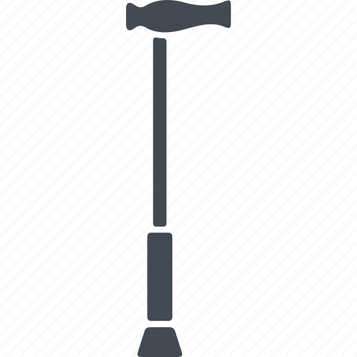 cane, disabled, support, walking support icon