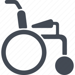 disabled, means of transportation for people with disabilities, vehicle, wheelchair icon