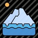 iceberg, glacier, melt, disaster