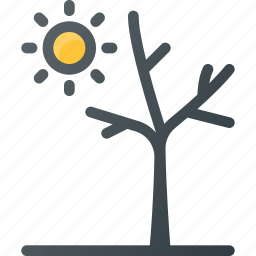 catastrophe, disaster, drought, weather icon