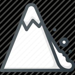 catastrophe, lavinadisaster icon