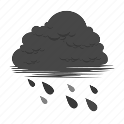 acid, acid rain, cloud, cloudy, disaster, pollution, rain icon
