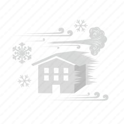 disaster, freeze, ice storm, snowstorm, solidify, storm, winter icon