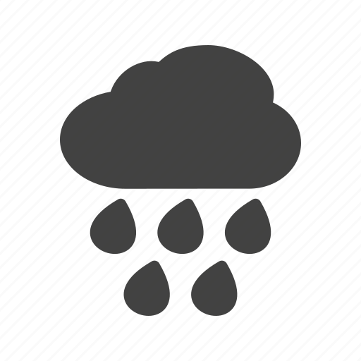 heavy, hurricane, rain, storm, trees, weather, wind icon
