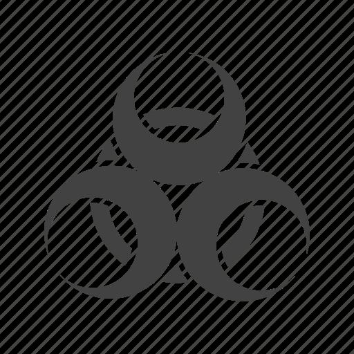 disease epidemic hazard health sign toxic virus icon